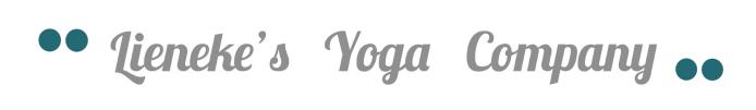 yoga studio logo lieneke's yoga company