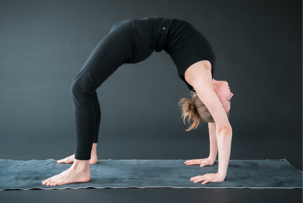yoga achteroverbuiging urdhva dhanurasana alignment