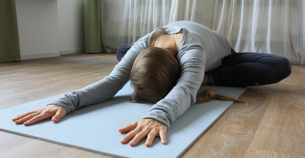 yoga heupopener baddha konasana