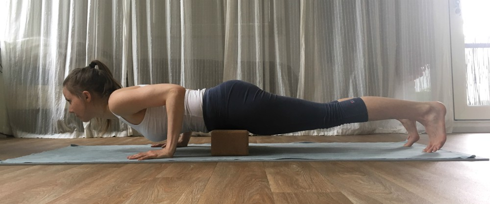chaturanga dandasana yoga lage plank kracht