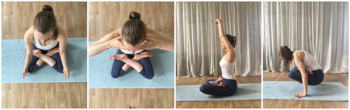 padmasana lotus serie yoga