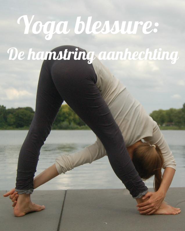Yoga blessure - De hamstring aanhechting