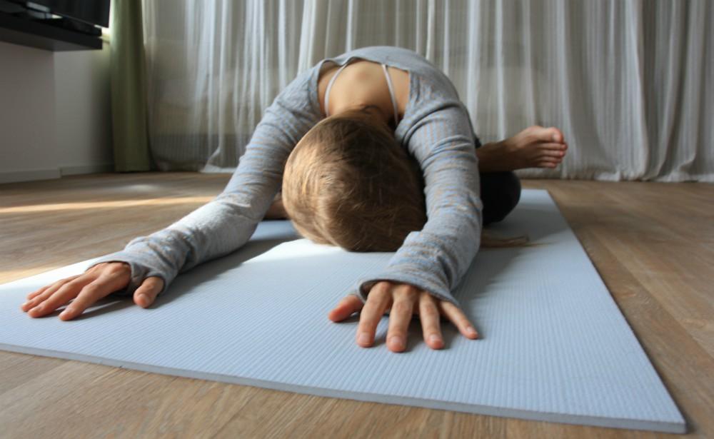 yoga heupopener ontspanning
