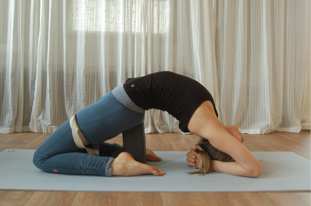 yoga kurkblokken