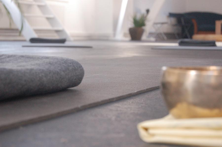 yoga studio ontspannen rust