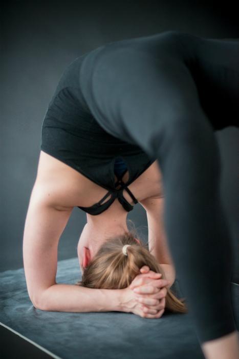 yoga schouders openen achteroverbuiging