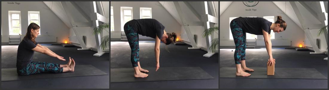 yoga vooroverbuigen met anne