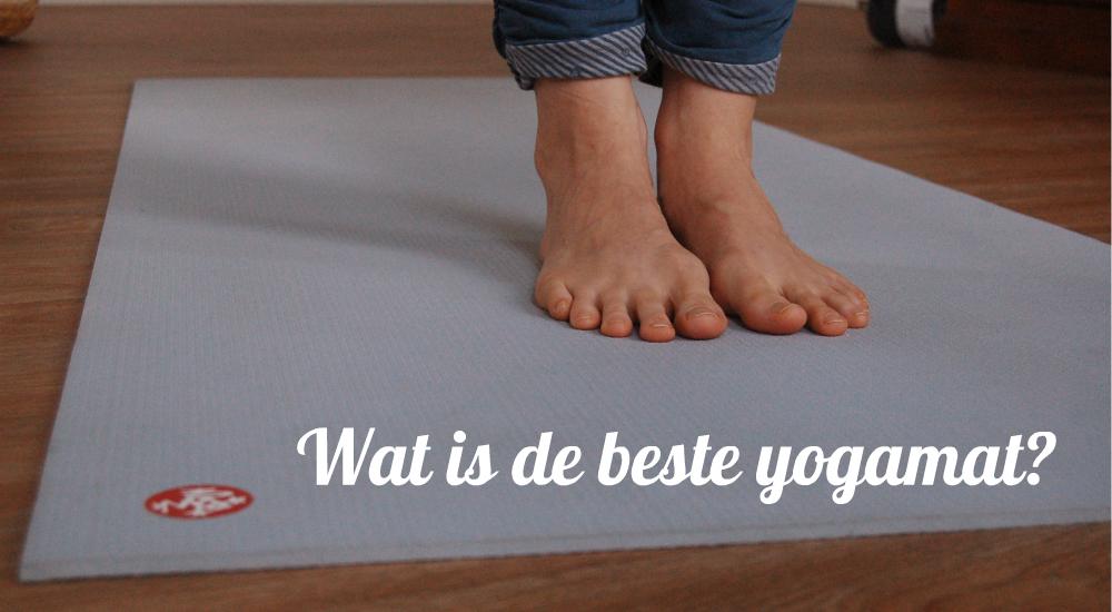 manduka yogamat pro lichtblauw