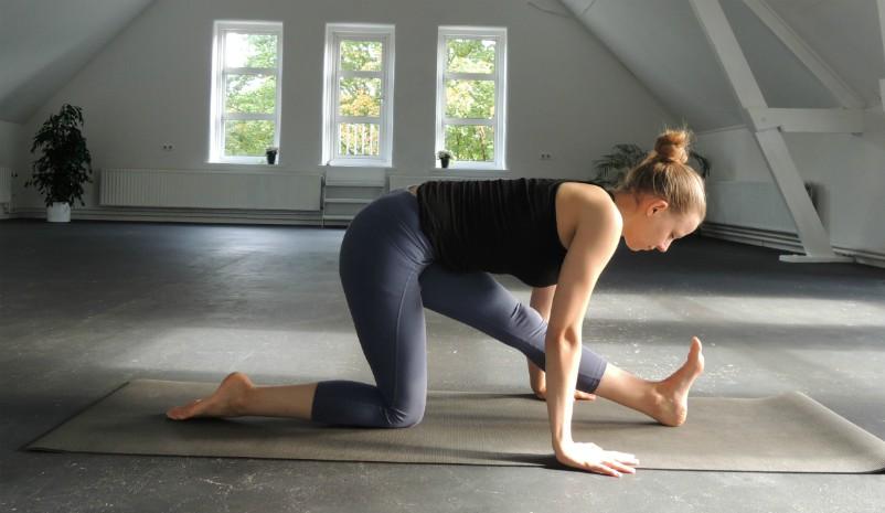 heupopeners yoga spagaat