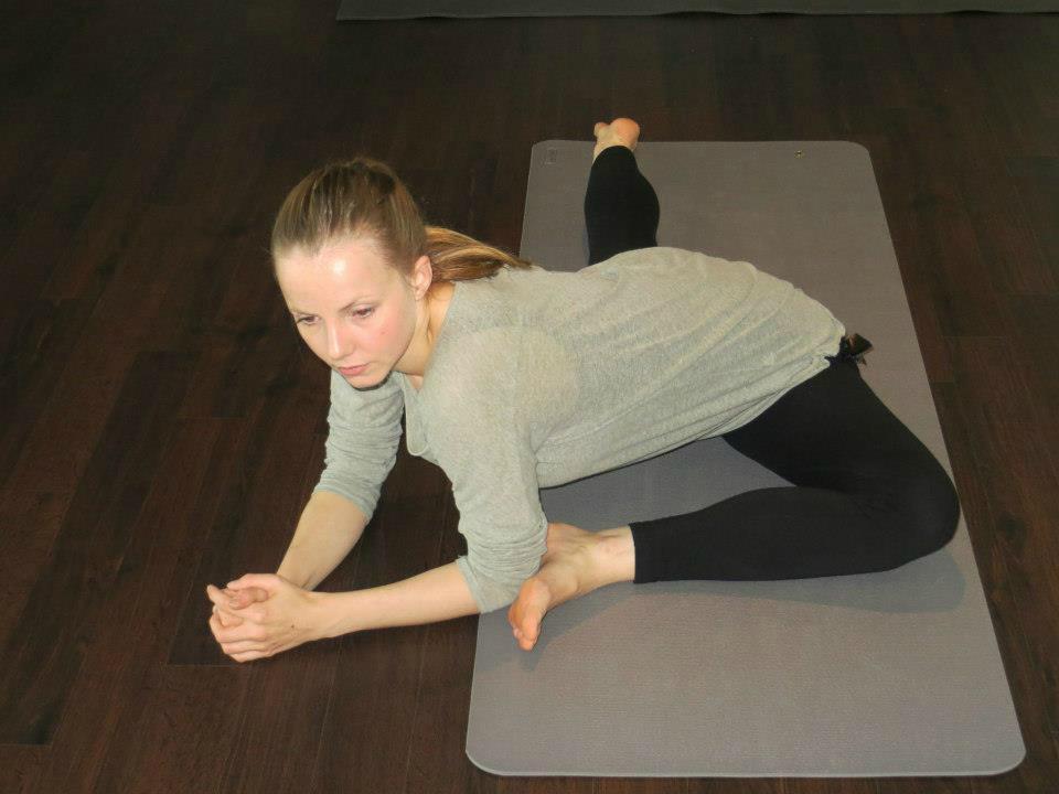 yoga de duif heupopener