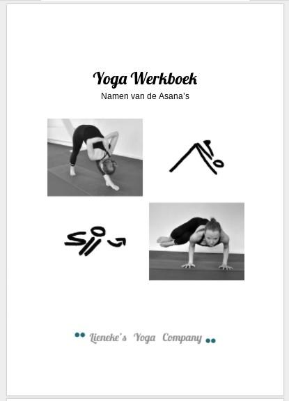 yoga werkboek