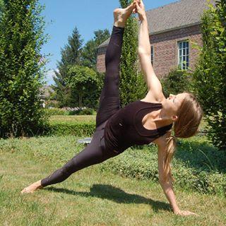 yoga op instagram