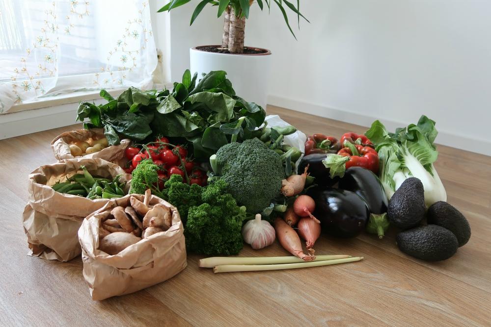 wat eet een veganist: groente