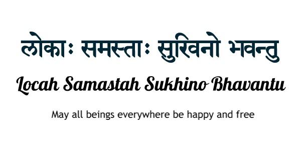 Sanskriet is de taal van Yoga