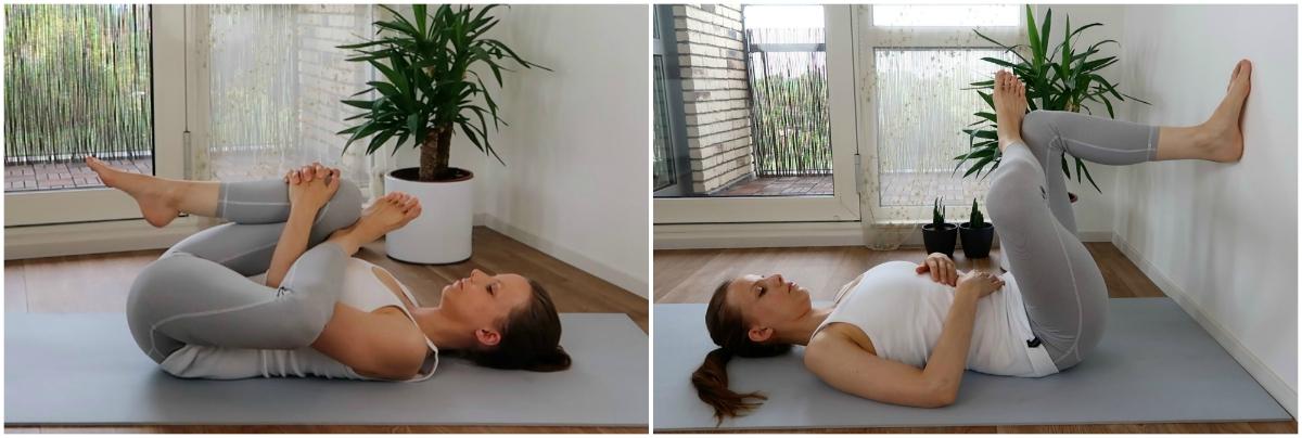 yoga oefeningen voor de onderrug, heupopeners
