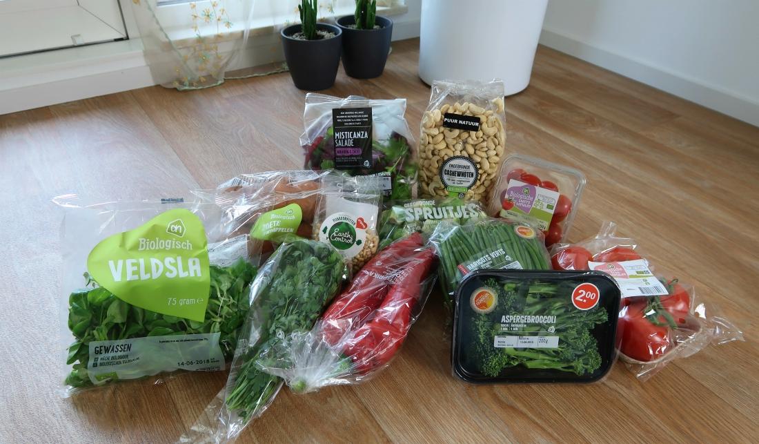 veganistische boodschappen