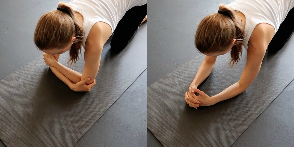 yoga hoofdstand leren voor beginners