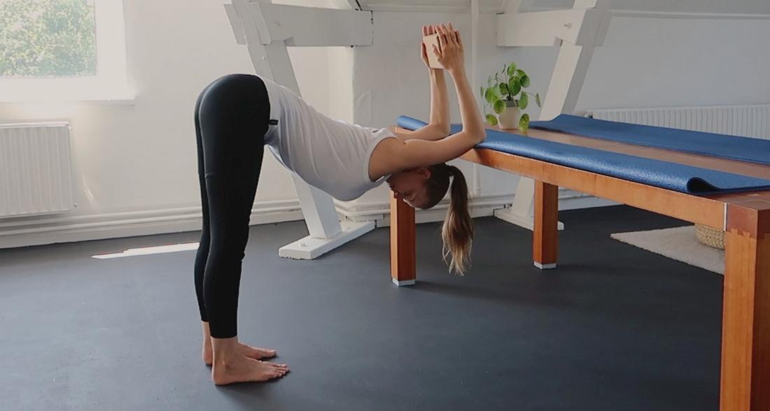 yoga hoofdstand leren