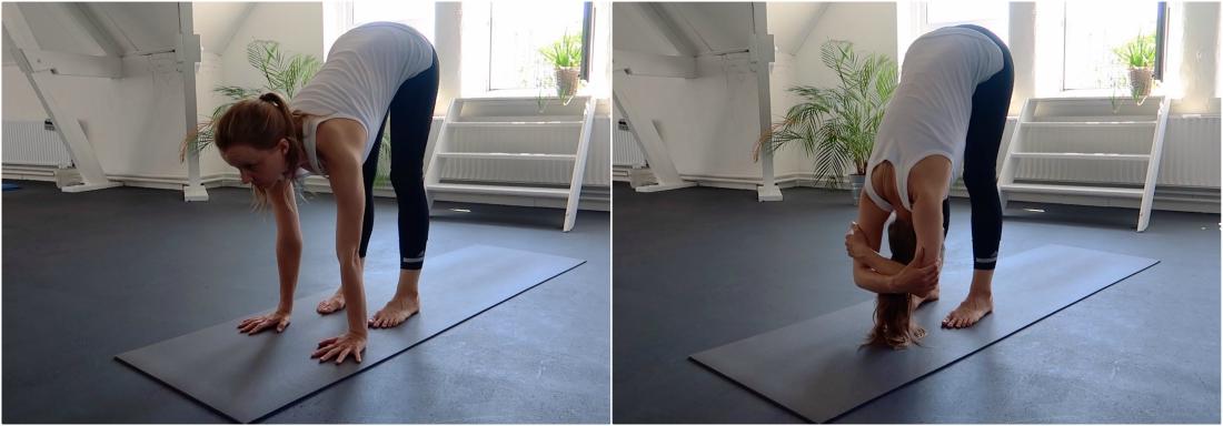 yoga hoofdstand leren - voorbereiding voor beginners