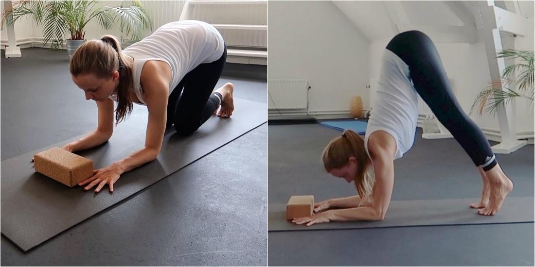 yoga hoofdstand leren schouderopeners