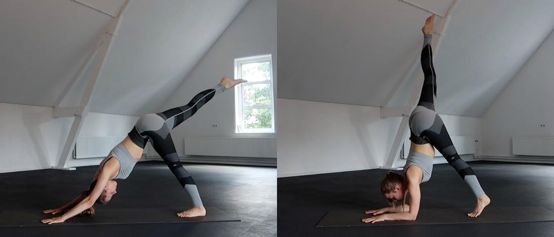 yoga oefeningen voor de elleboogstand