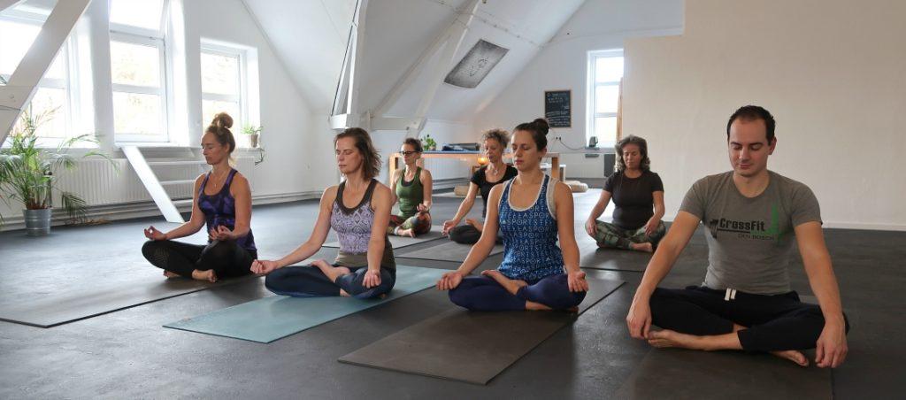 yoga en stress
