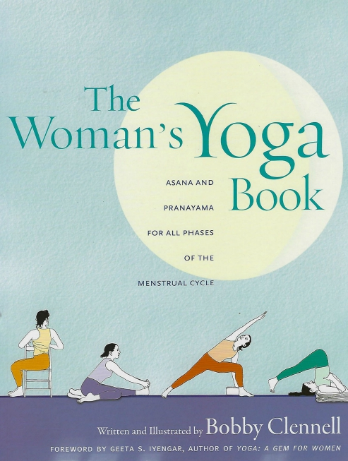 woman yoga book bobby clennell