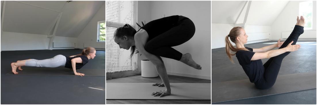 yoga houdingen krachtopbouw