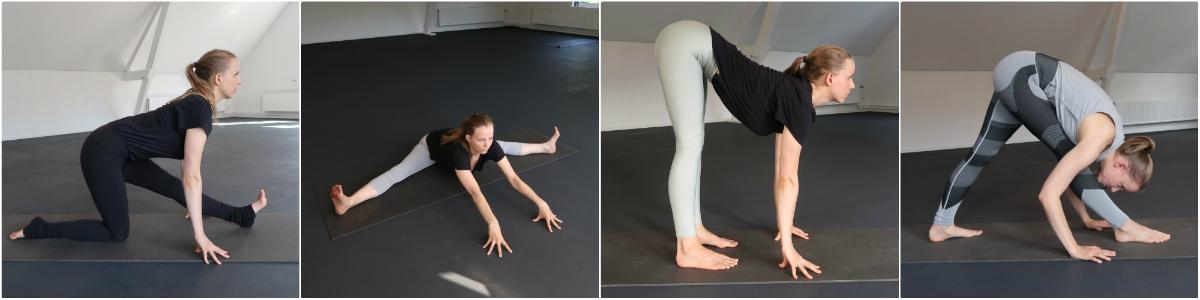 yoga houdingen voor de hamstrings