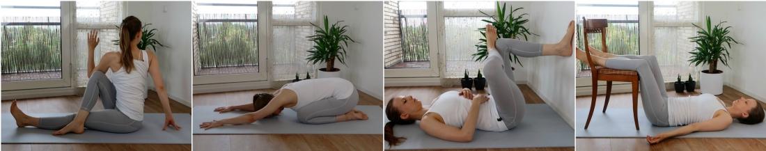 yoga houdingen voor de onderrug