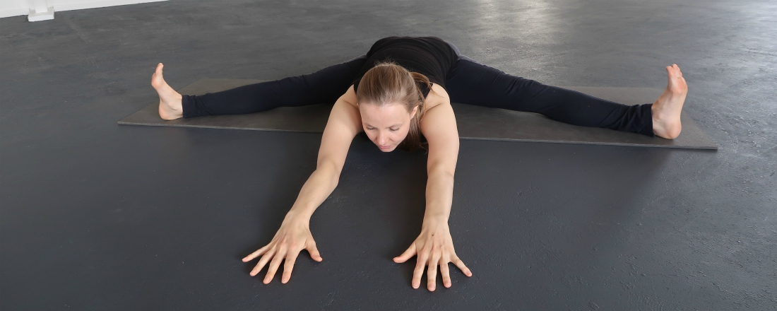 yoga houding spreidzit