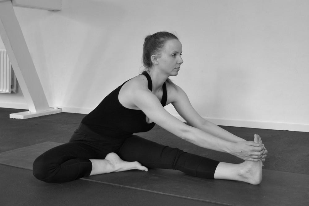 yoga houdingen tekenen