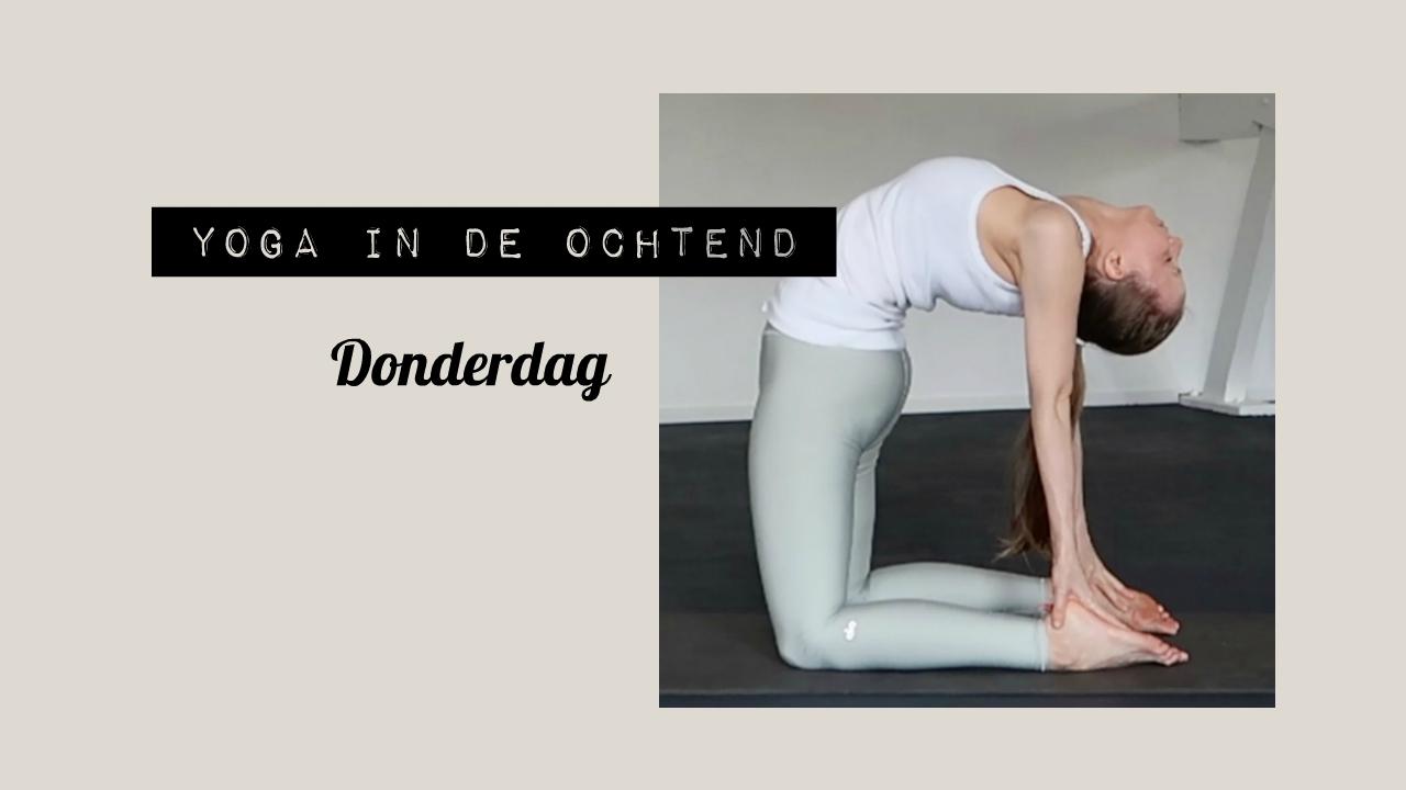 Yoga in de Ochtend: Donderdag