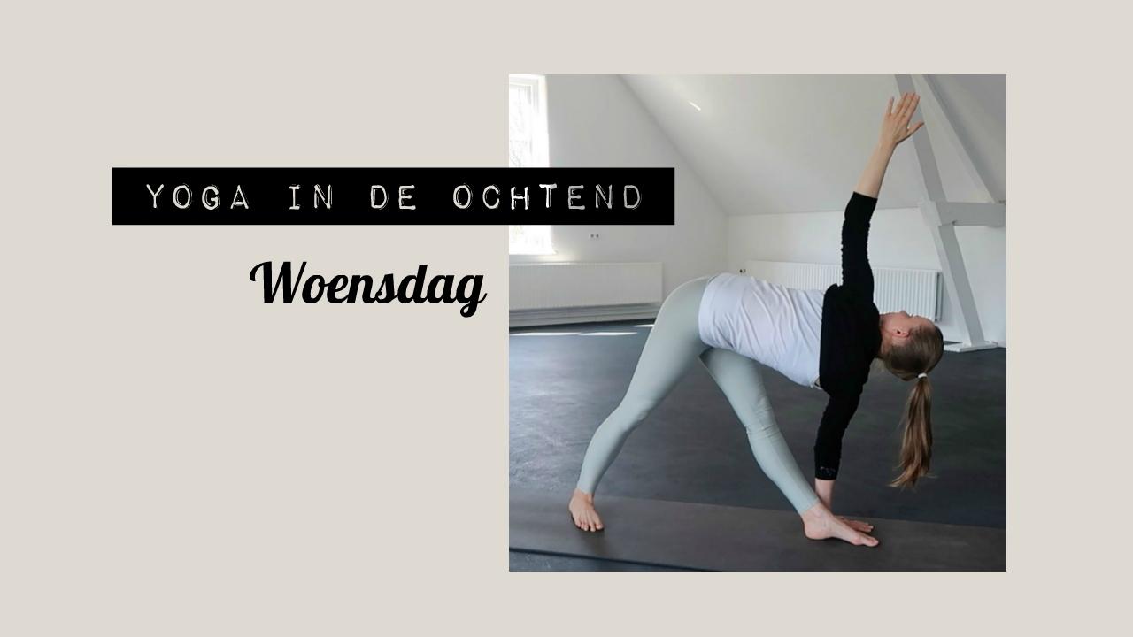 Yoga in de Ochtend: Woensdag