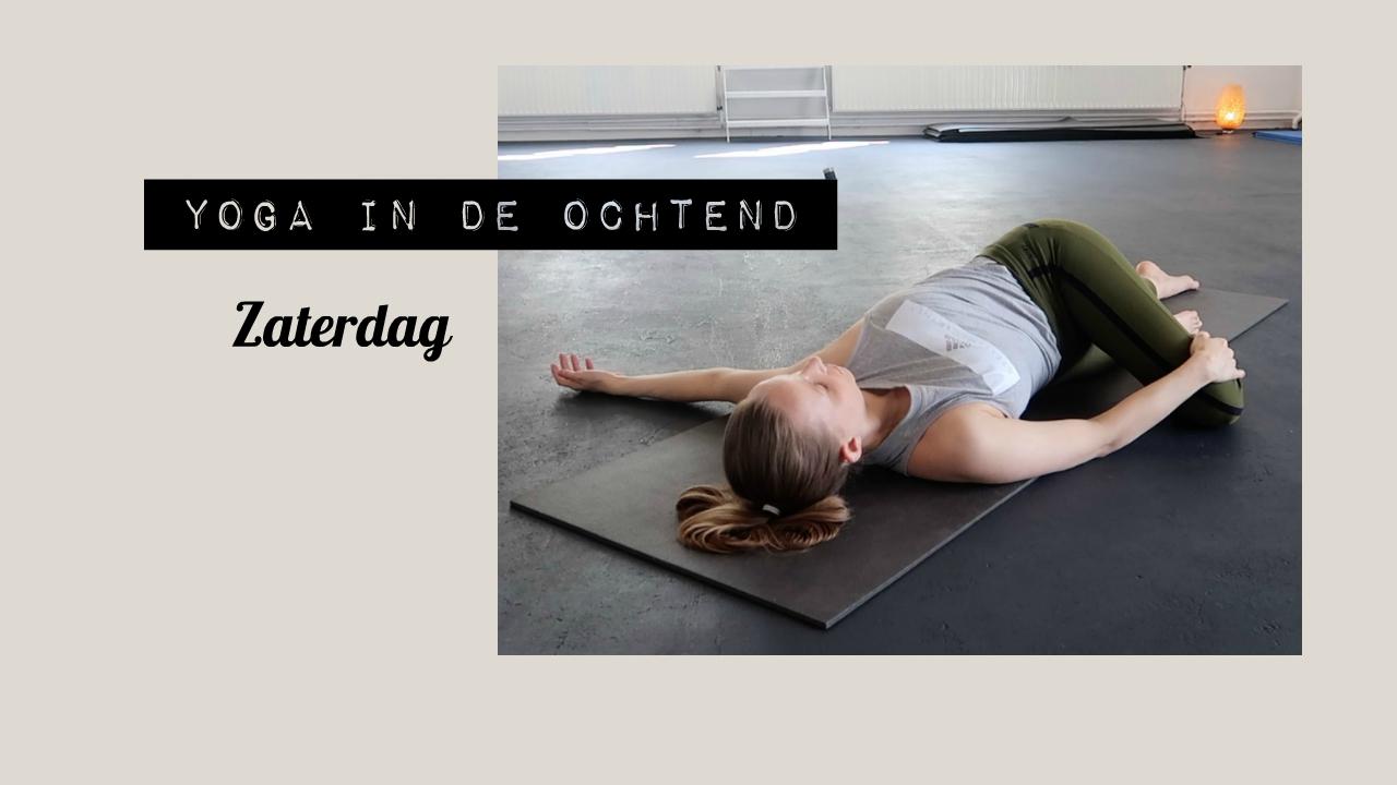 yoga in de ochtend zaterdag