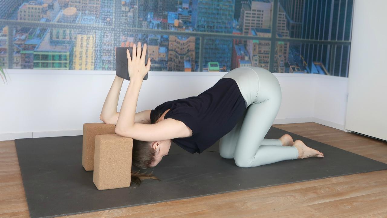 strekoefening bovenrug