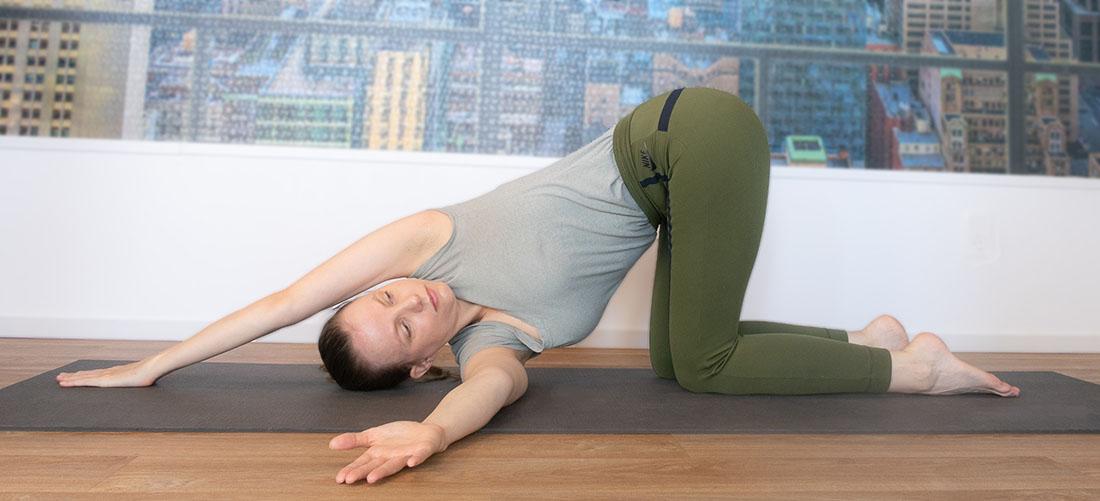 yoga voor de schouders