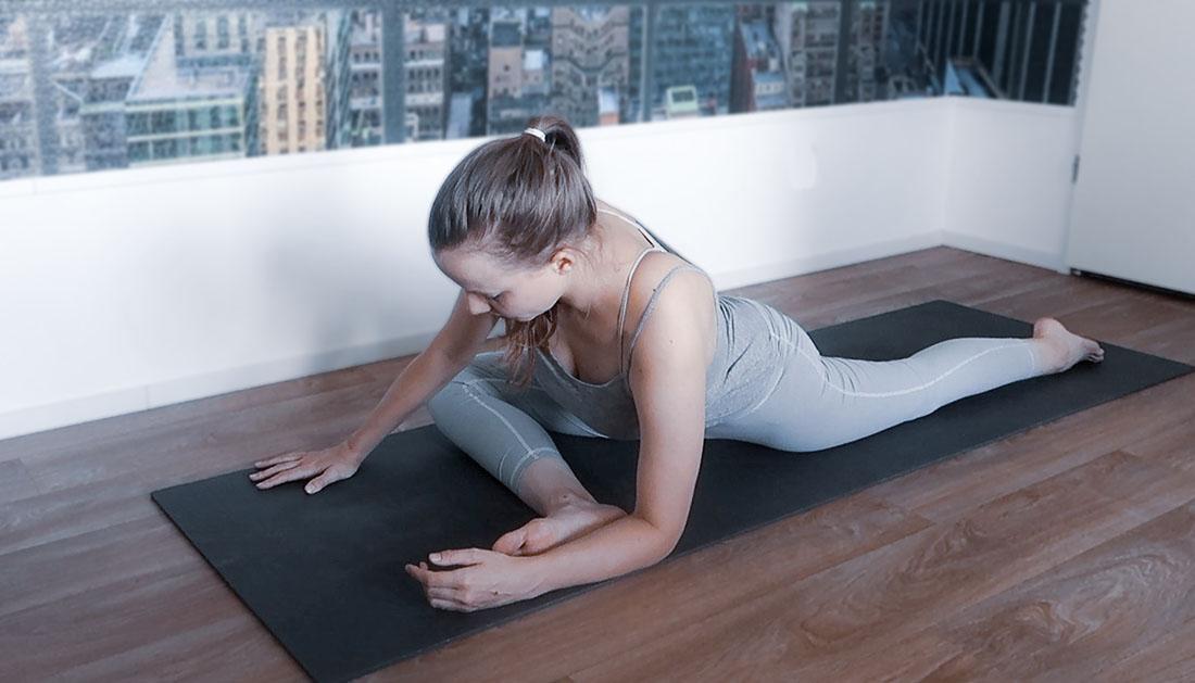 yoga heupopeners de duif