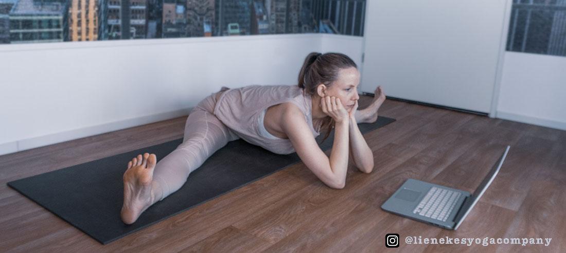 yoga heupopeners spreidzit