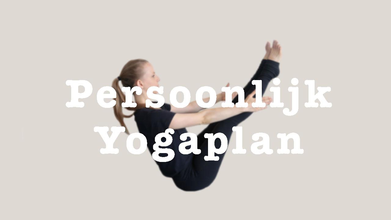 persoonlijk yogaplan