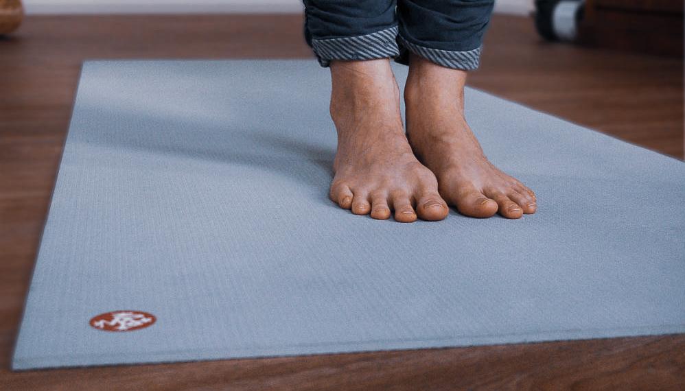 yogamat manduka pro lichtblauw