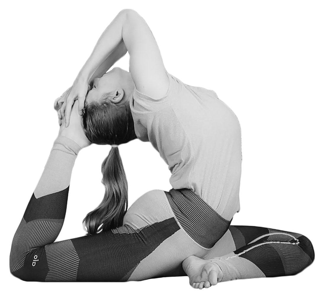 yoga eindhouding duif